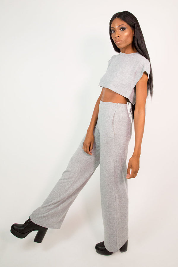 Heather Grey Pants