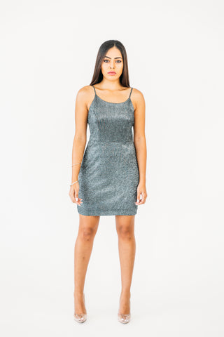 Flirty Velvet Mini Dress
