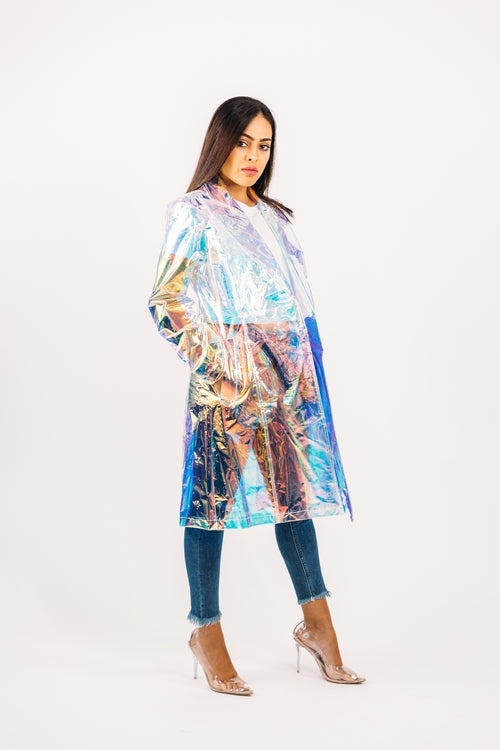 Holographic Rain Coat
