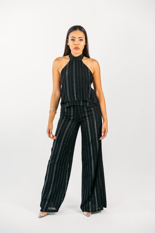 Stripped Woven Pants
