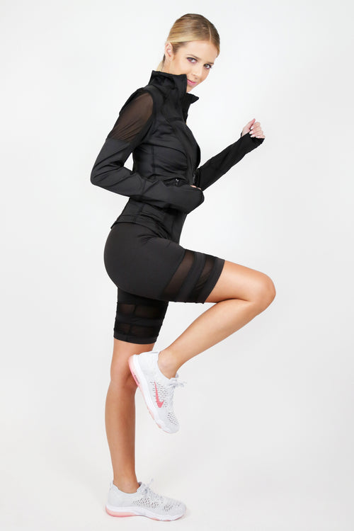 Mesh Athletic Jacket