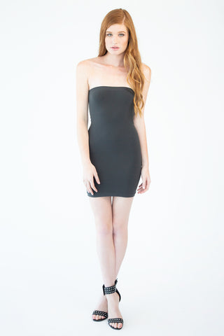 Strapless Fitted Dress
