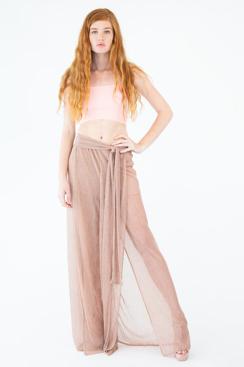 Sheer Slit Pants