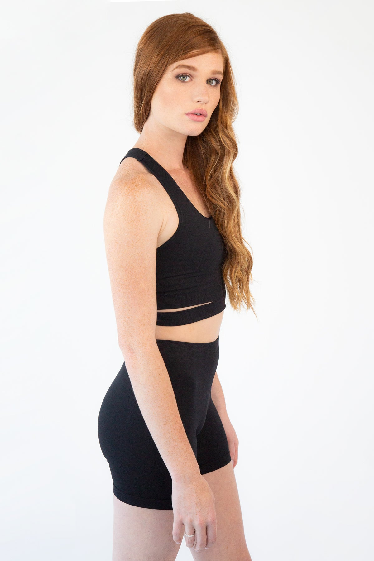Ultra Stretch High Waist Shorts
