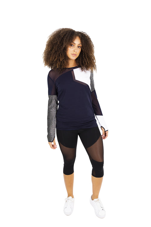 Long Sleeve Activewear Top