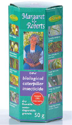 MARGARET ROBERTS - Biological Caterpillar Insecticide
