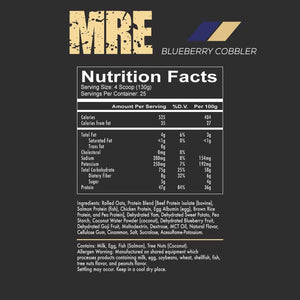 MRE - Meal Replacement