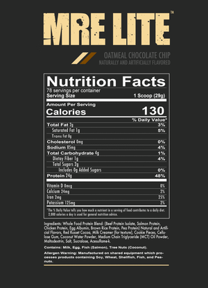 MRE Lite - Animal Based Protein 5LB