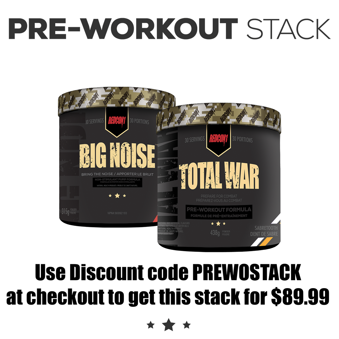 Total War + Big Noise Stack