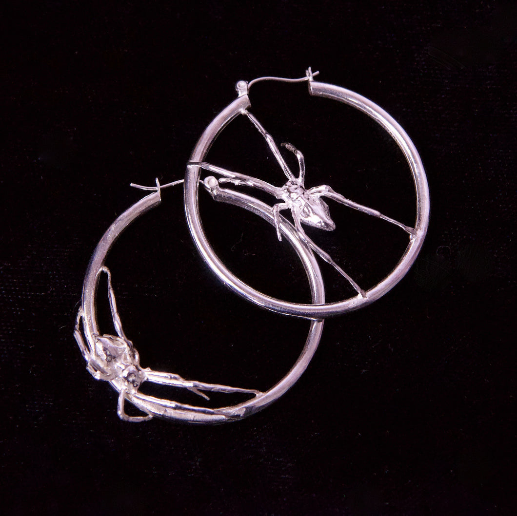 Black Widow Hoops