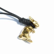 Rabbit Fighter Necklace
