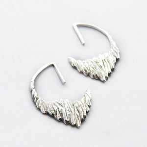 Iceberg hoop earrings