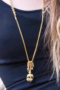 Aloysius Necklace Gold