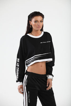 Black Countach Crop Top