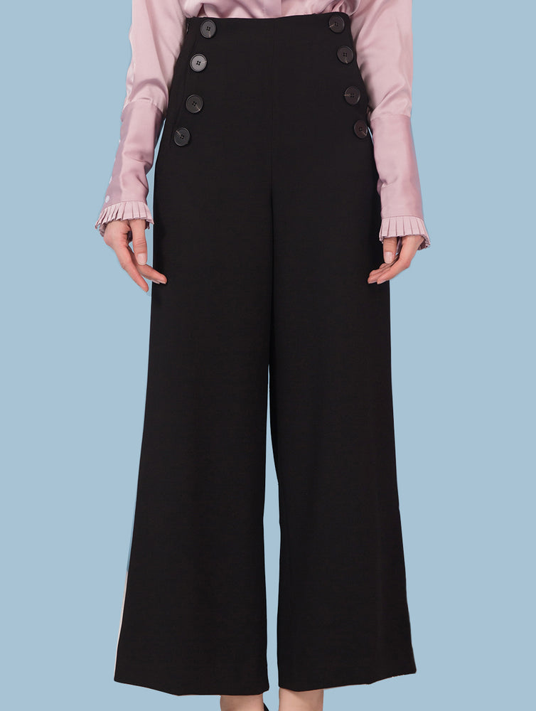 Designed Women Flare OL Casual Pants Trousers