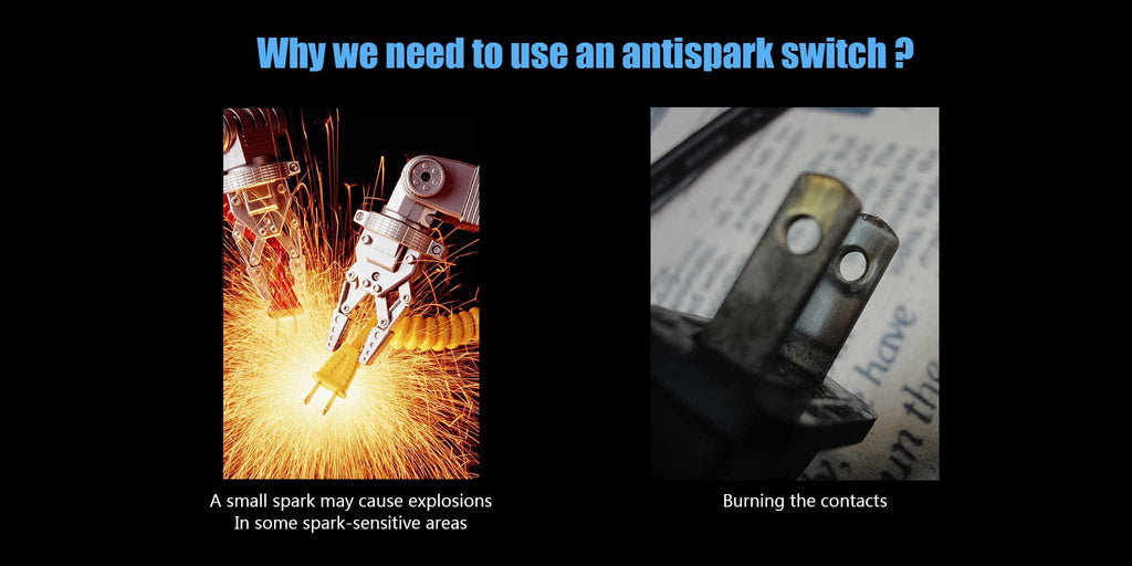 Electric spark hazards
