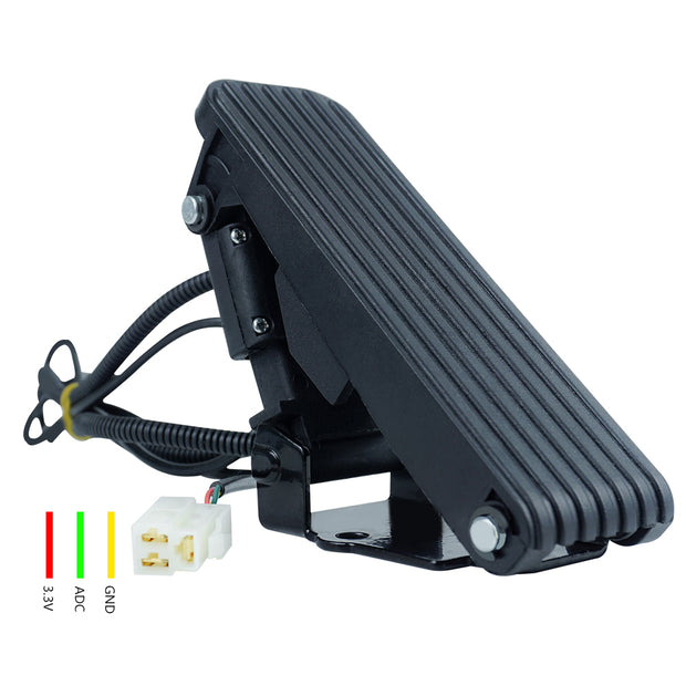 Accelerator Throttle Pedal Assembly Speed Control Brake Foot Pedal for E-Bike