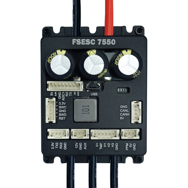Flipsky FSESC 7550 75V 160A ESC Base on VESC6 With Aluminum Case