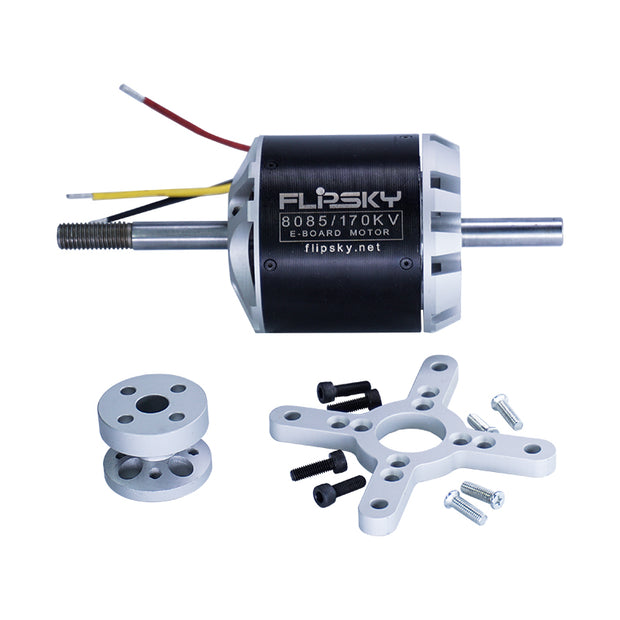 Brushless DC motor 8085 170KV 6000W for electric skateboard (3720490057788)