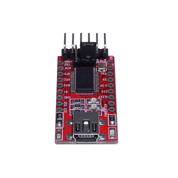3.3V 5V FT232RL FTDI USB To TTL Serial Converter Adapter Module For Arduino (2521583452220)