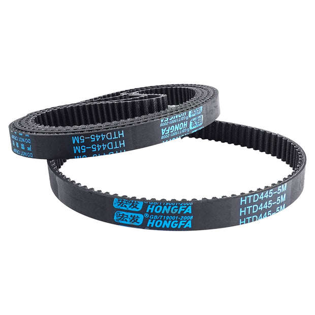 445MM HTD 5M 15MM Timing Belt For Flipsky 8'' Pneumatic All Terrain Tire Kit