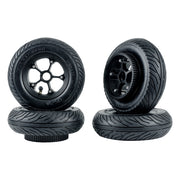 "6"" 7'' ATM Offroad Wheel Pneumatic Rubber All Terrain Mountain Wheels Kit With Two Belt For DIY Skateboard /Scooter"