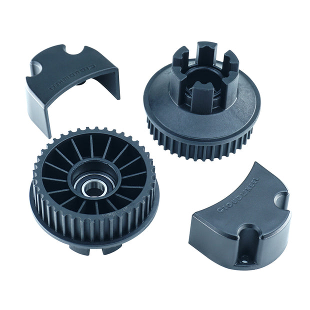 5M 40T Timing Belt Pulley Gear Synchronous Wheel Kit For Cloud Wheel Discovery Version