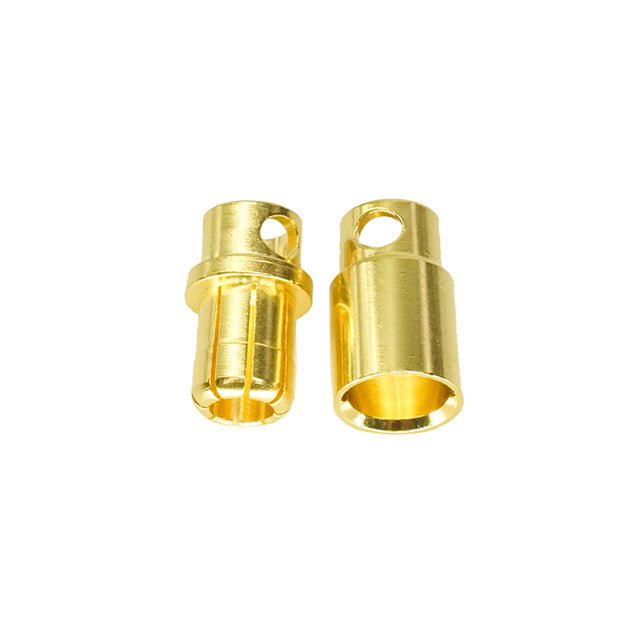 8.0mm Male Female Bullet Connector Plug 1 Pairs Heavy Duty for RC Lipo Power Wire Connectors