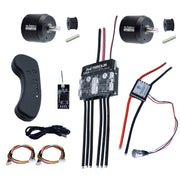 Group D9 Electric Skateboard Kit (Includes Dual FSESC4.20  and BLDC 6354 Motors)