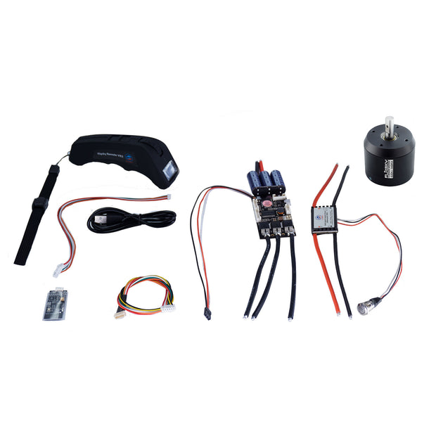 Group S10 Electric Skateboard Kit (Includes FSESC4.12  and BLDC 6354 Motors)