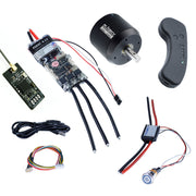 Group S3 Electric Skateboard DIY Kits (Includes Standard FSESC4.12 and BLDC 6354 Motor)