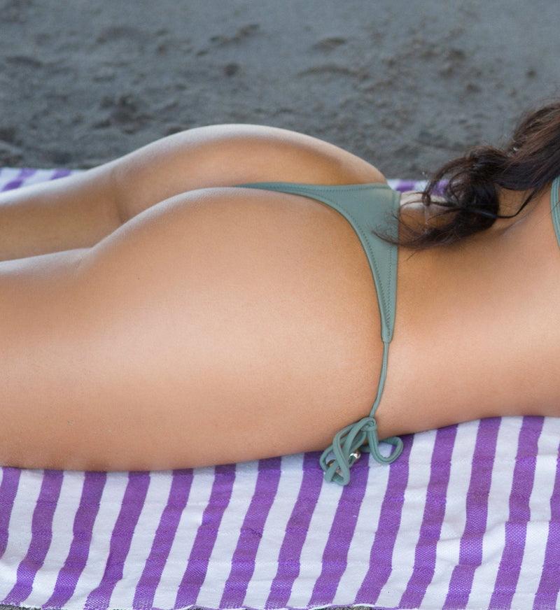 Let's get tan! Thong