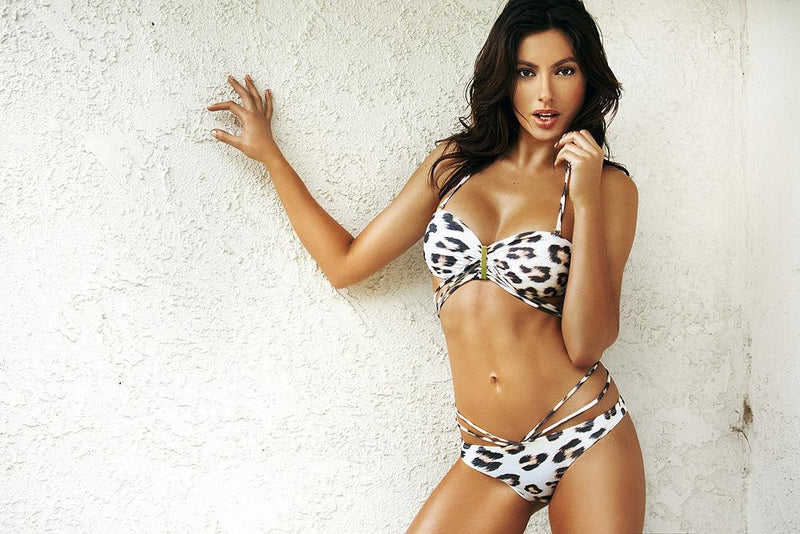 JULIET BIKINI IN CHEETAH - Plumeria Swimwear