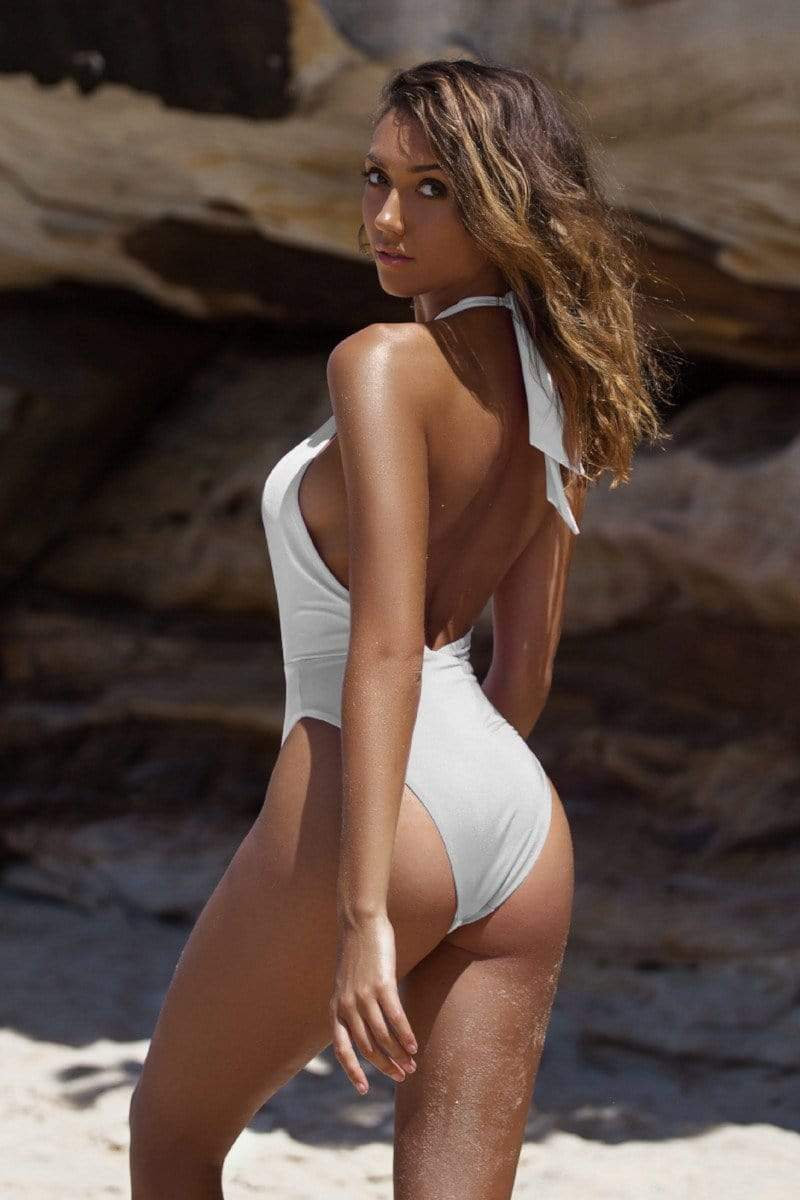 Alessia One Piece White