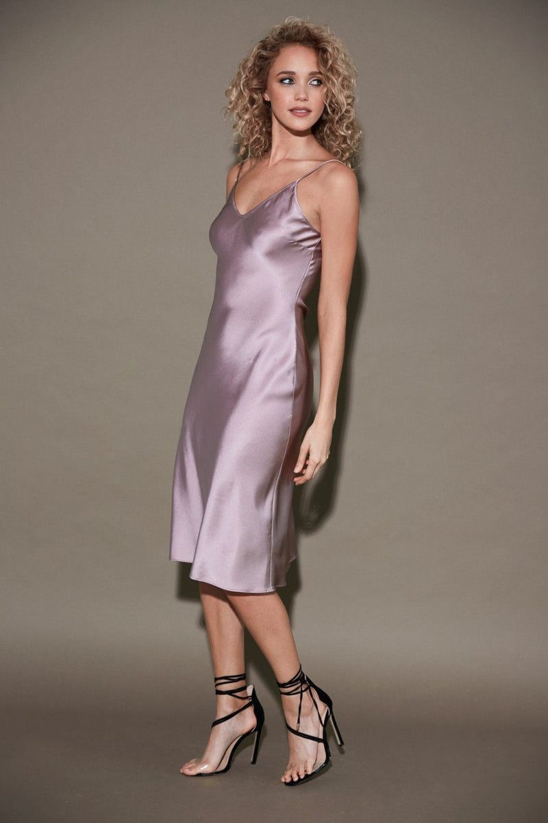Silk slip dress