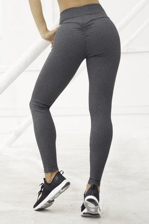 GET IT RIBBED LEGGINGS - Plumeria Swimwear