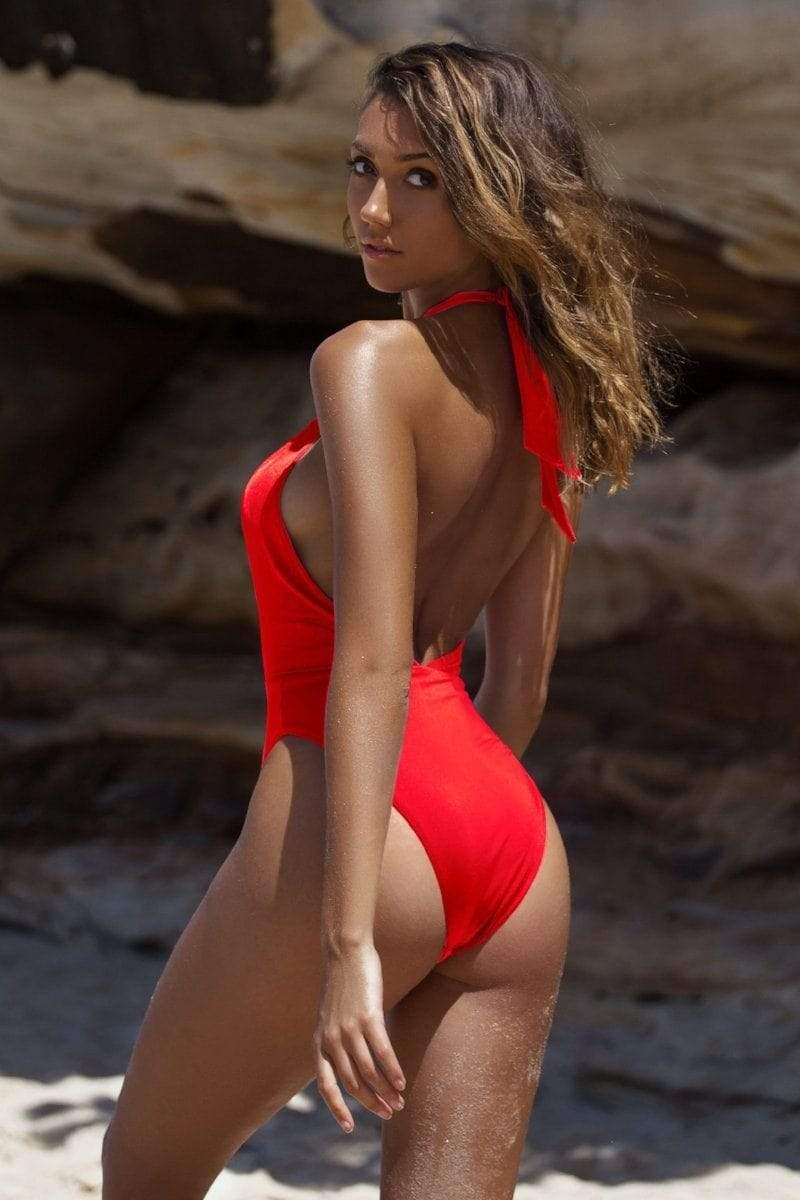 Alessia One Piece Red
