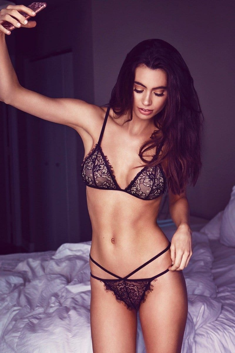 Laura Lace Lingerie Set