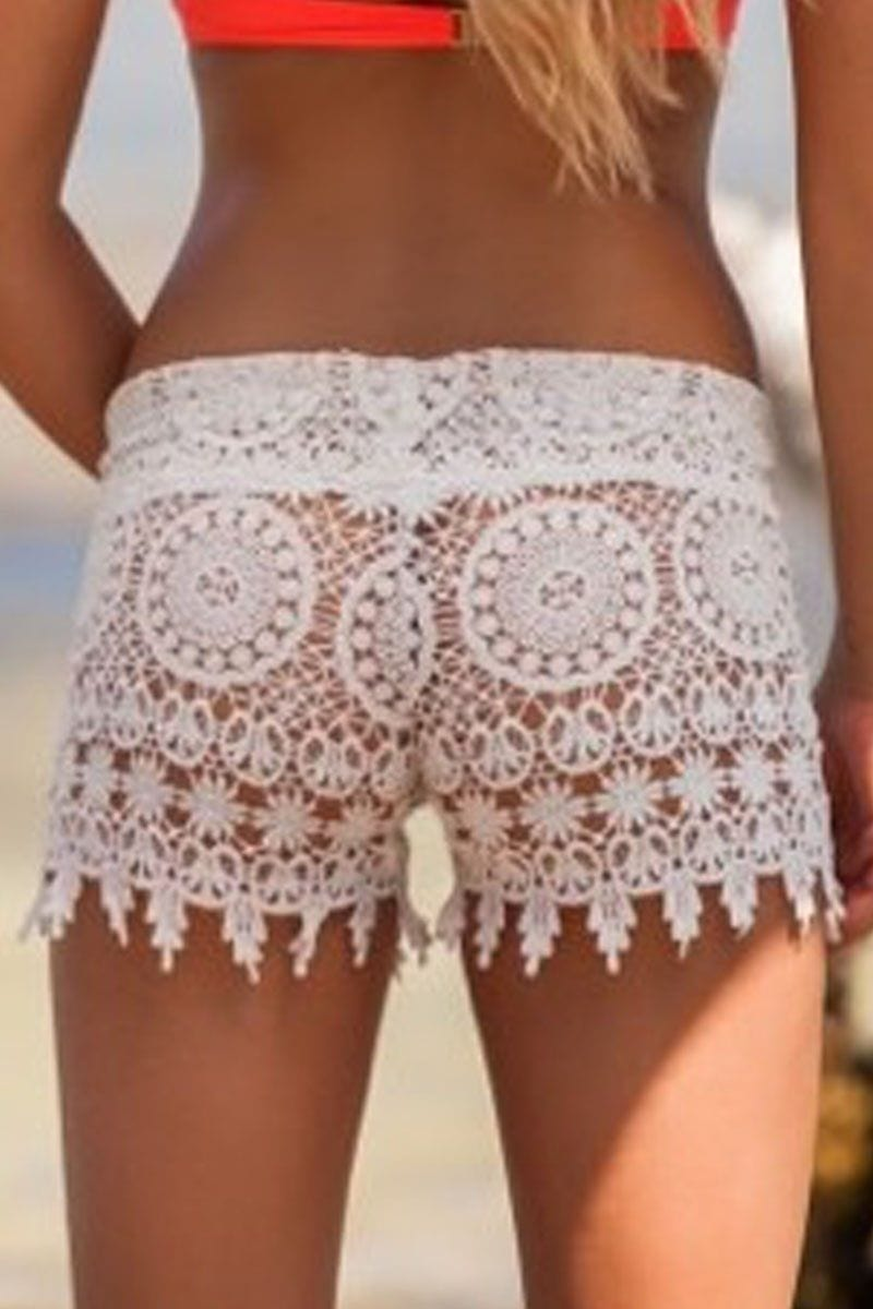Lace Beach Shorts