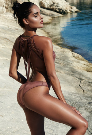 Espiritu Bronze Limited Edition - Plumeria Swimwear