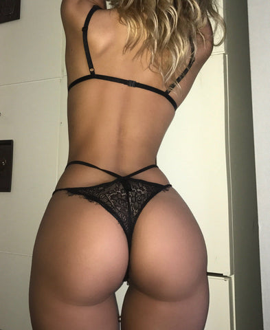 Alexa Bodysuit black