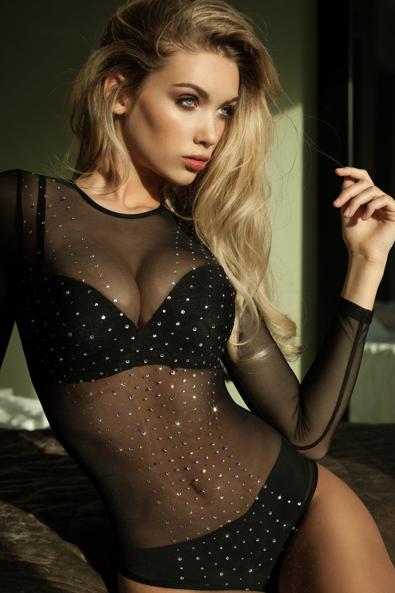 Rhinestone One Piece