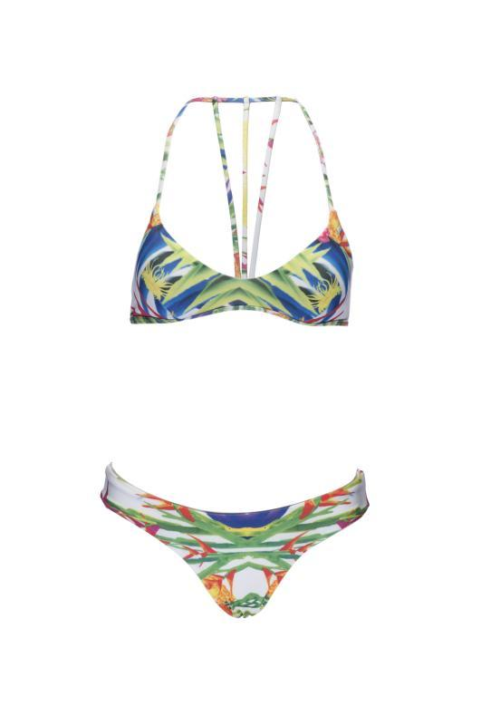 Birds of Paradise print Bikini - Final Sale - Plumeria Swimwear