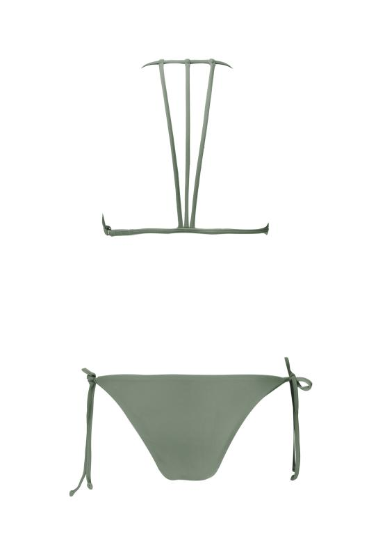 A New Color ! - TROUBLE IN PARADISE Khaki - Plumeria Swimwear