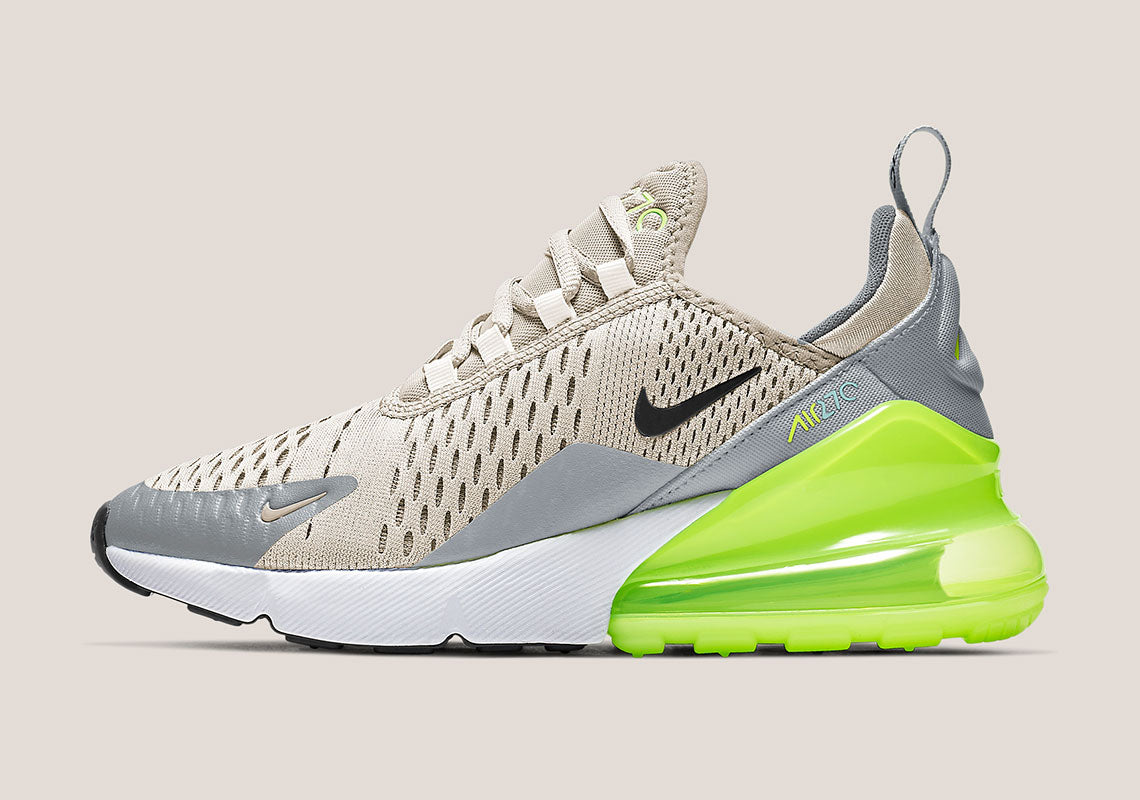 This Nike Air Max 270 Is A Mix Of Neons And Neutrals