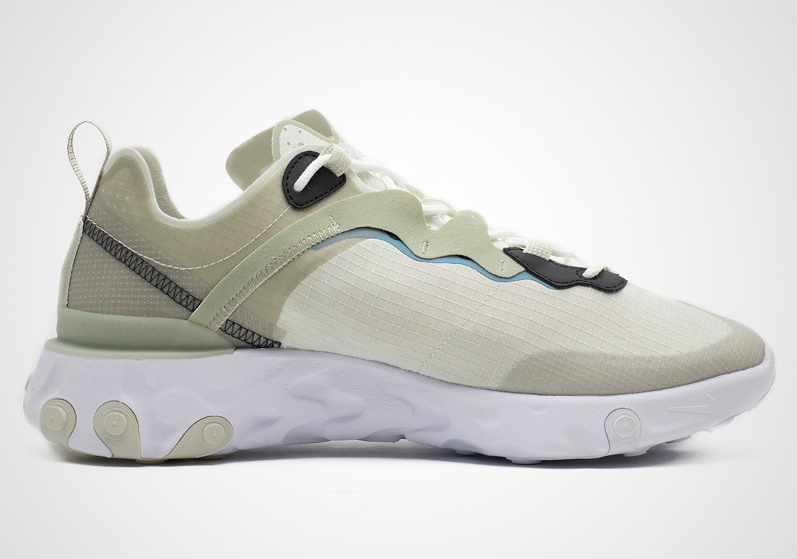 Light Beige And Grey Nike React Element 55