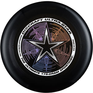 Диск літаючий фризбі Discraft Ultra-Star Black