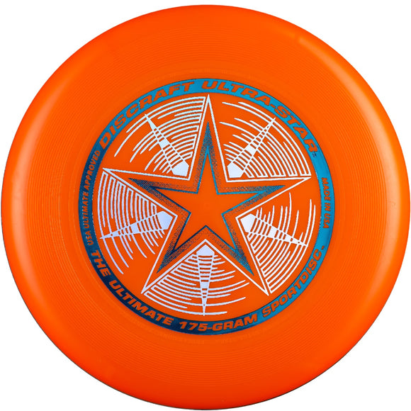 Диск літаючий фризбі Discraft Ultra-Star Orange