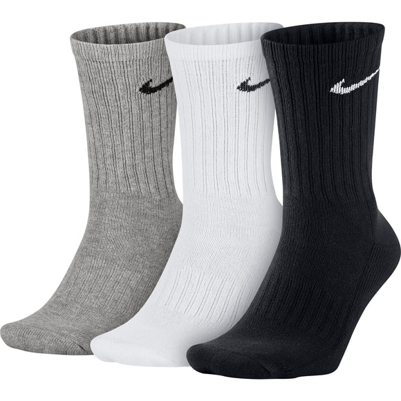 Шкарпетки Nike 3Ppk Value Cotton Crew | SX4508-965