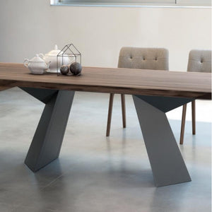 FIORE RECTANGULAR TABLE - WALNUT SOLID WOOD